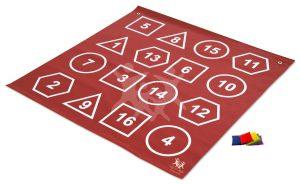שטיח צורות ומספרים